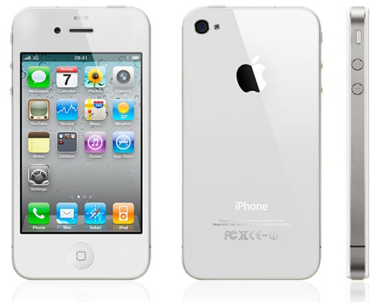 iPhone 4 al fin en color Blanco!!