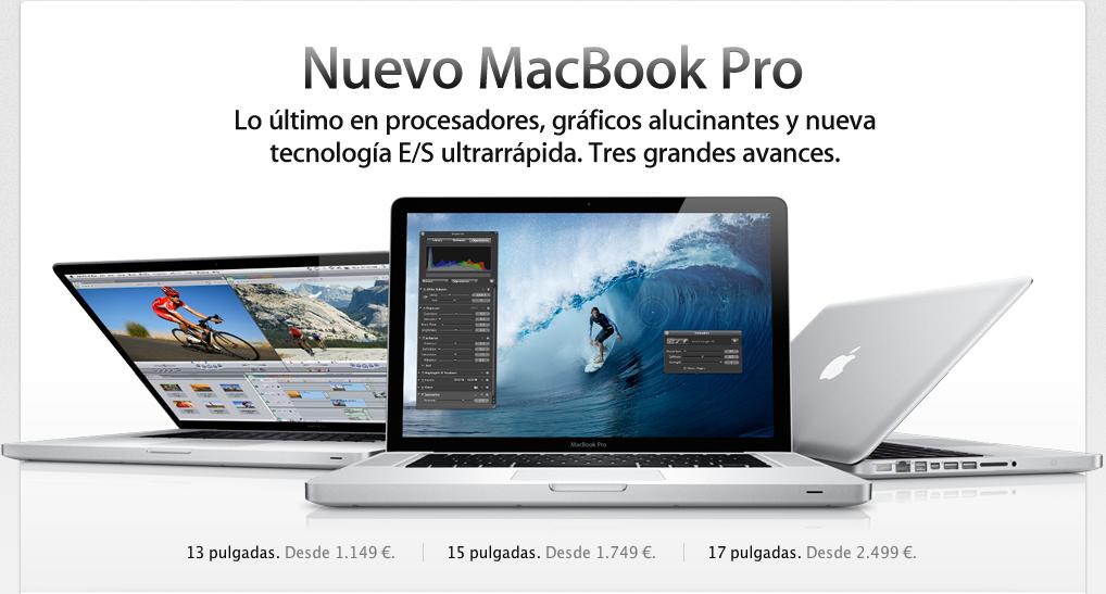 ya tenemos el nuevo macbook pro